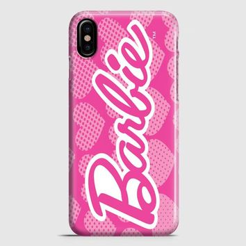 Barbie Pink Logo Cover iPhone X Case | casescraft