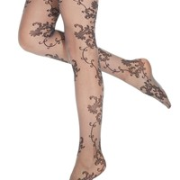 Hue Tights, Vintage Lace