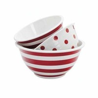 Melamine Mixing Bowl Set 3pc