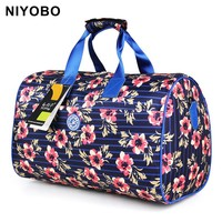New Arrival Travel Totes Bags Large Capacity Travel Luggage Bags Print Travel Duffle Bags PT1037