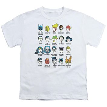 Dc - Superhero Issues Short Sleeve Youth 18/1 Shirt Officially Licensed T-Shirt