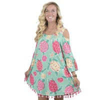 "Simply Southern ""Topsail"" Peek-a-boo Tassel Dress"