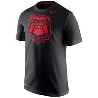 Nike Georgia Bulldogs Travel Dri-FIT Cotton Tee