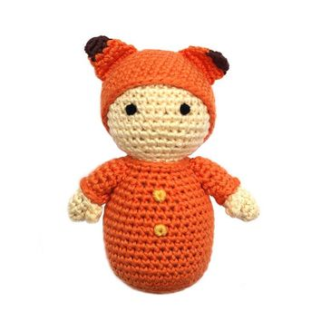 Baby with Fox Hat Toy