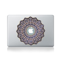 Arabic Mandala Vinyl Sticker for Macbook (13-inch Macbook and 15-inch Macbook)
