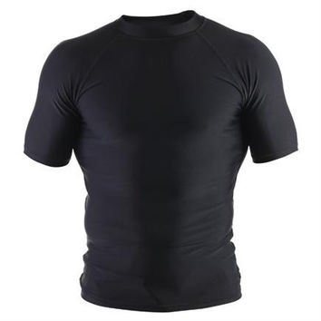 Clinch Gear Basic Rashguard - Short Sleeve