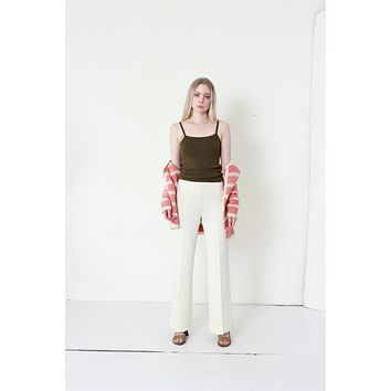 70s Ivory Wide Leg Trousers