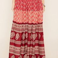 R by Raga Ornate Maxi Skirt