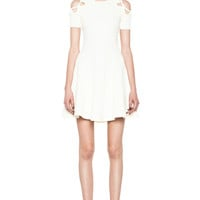 Opening Ceremony | Tracy Cut Out Dress in Ivory Floret www.FORWARDbyelysewalker.com