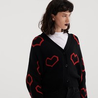 Lazy Oaf Heart Collection Cardigan - View all - New In - Womens