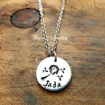 I Wished For You Dandelion Necklace, Wish Necklace, Dandelion Wish Jewelry, Personalized Necklace, Gift for Daughter/Graduation/Birthday