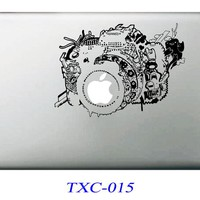 NEW Camera Laptop Skin Sticker Decal For Macbook Air Pro Retina 13 Mac book 13.3 inch (TXC-015)