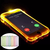 LED Flash Lighting Up Phone Case for Iphone