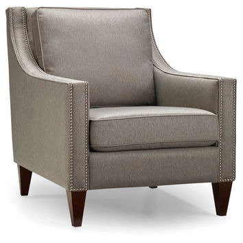 Anna Chair, Light Gray, Accent & Occasional Chairs