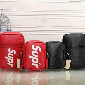 One-nice™ LV x Supreme Fashion Leather Daypack Travel Bag I - MYJSY-BB