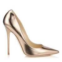 Nude Mirror Leather | Anouk | Pre Fall 14 | JIMMY CHOO Pumps