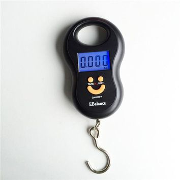 DCCKL72 Hanging Scale 50Kg /10g Digital Scale BackLight Fishing Pocket Weight scale Luggage Scales Kg Lb OZ