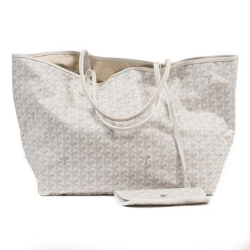 White tote bag GOYARD White