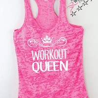Workout Queen Womens Exercise Tank
