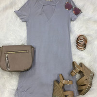 Delightful Dreams Dress: Lavender