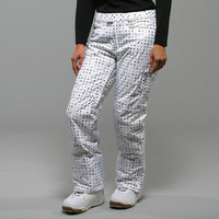 Marker Women's 'Morning Star' White Insulated Ski Pants | Overstock.com