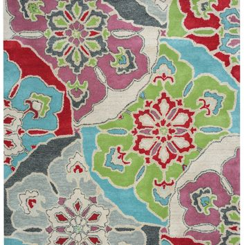 Rizzy Home Pandora PR8145 Multi-Colored Medallion Area Rug