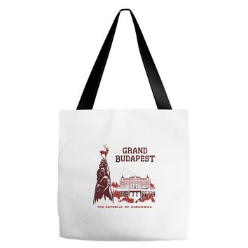 grand budapest hotel Tote Bags