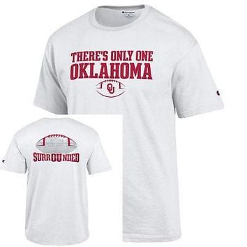 Licensed Oklahoma Sooners T Official  NCAA Shirt Tee by Champion KO_19_1