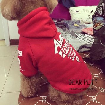 BAPE Pet Dog Cat Puppy Sweater Hoodie Coat