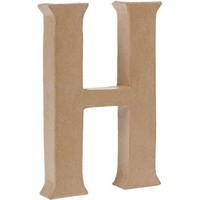 Uppercase H Craft Letter