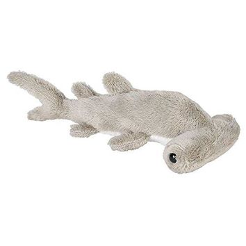 Wildlife Tree 3.5 Inch Hammerhead Shark Mini Small Stuffed Animals Bulk Bundle of Ocean Animal Toys or Sea Party Favors for Kids Pack of 12