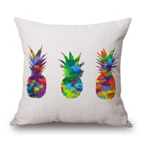 Pineapple Madness Pillow Cover