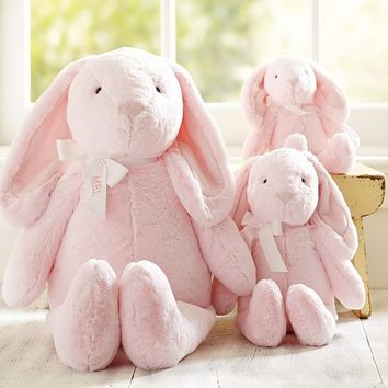 Pink Bunny Plush Collection | Pottery Barn Kids