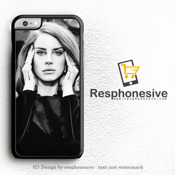 Lana Del Rey And Marina The Diamonds Photo Collage iPhone 6 Plus Case