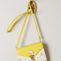 Daisy Lane Crossbody Bag by Anthropologie Yellow One Size Bags