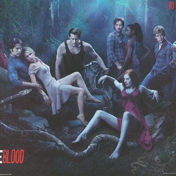 True Blood Vampire Cast Poster 24x36
