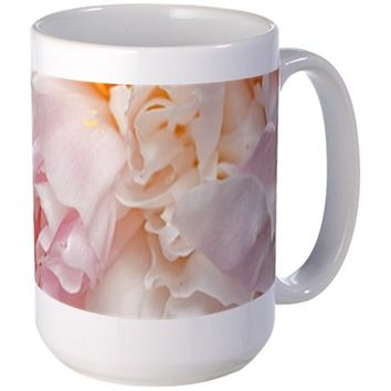 BLOOMING PINK PEONIES 1 MUGS