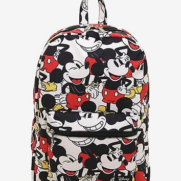 Loungefly Disney Mickey Mouse Print Backpack