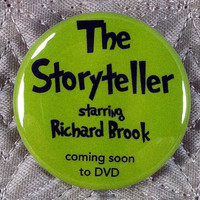 The Storyteller. Sherlock inspired 1.5 inch pinback button