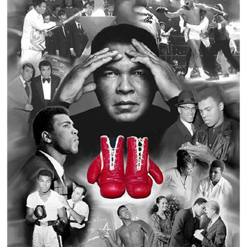 Muhammad Ali: Power, Magnetism, Personality Wishum Gregory Fine Art Print Poster