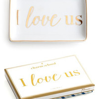 'I Love Us' Porcelain Tray