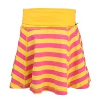 Plastisock - Skirt Wide Stripe Pink/Yellow - Baby Shop