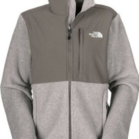 North Face Denali Jacket Womens (X-Small, R Pache Grey Heather/ Pache Grey)