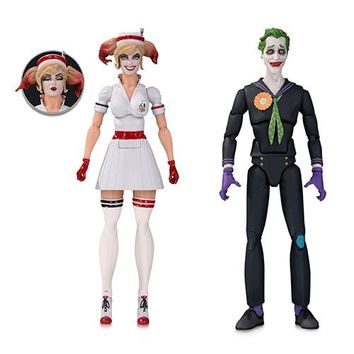 DC Designer Bombshells Nurse Harley and Joker Figure 2-Pack - DC Collectibles - Batman - Action Figures at Entertainment Earth