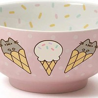 Pusheen Ice Cream | SNACK BOWL