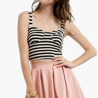 Parisian Cropped Top $16