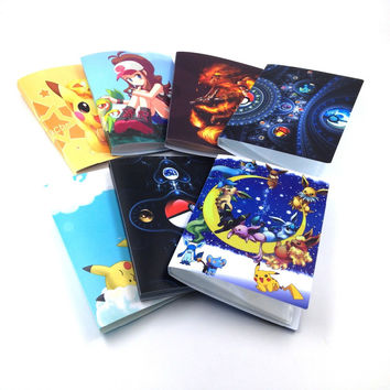 5 style New Collection 112 Pokemon cards Album Book List playing cards pokemon cards holder album pokemon toys for Novelty gift