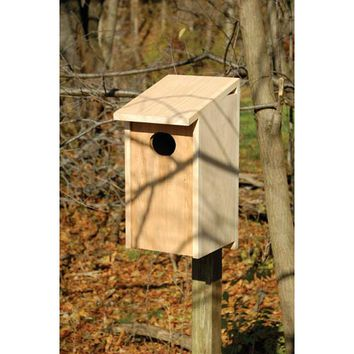 Heartwood 139A Wood Duck Solid Cypress Birdhouse