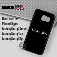 Samsung S7 Case - Tumblr Funny Quote - iPhone Case #SamsungS7Case #Quote #yn