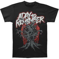 A Day To Remember Men's  Dead Tree T-shirt Black